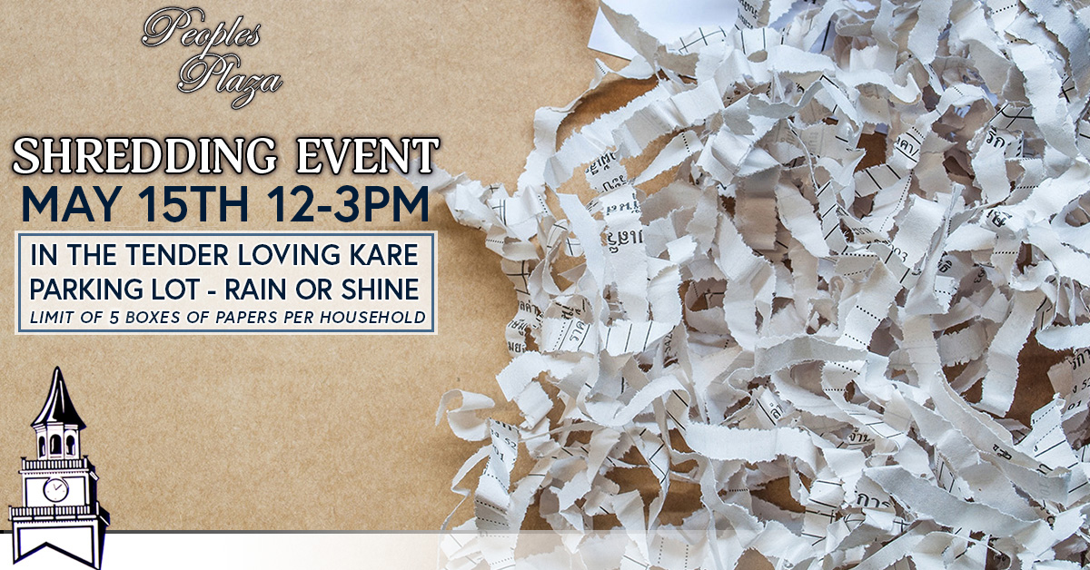 Shredding Event september 19th